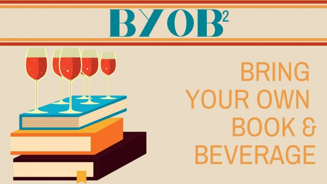Bring Your Own Book and Beverage - Tuesdays at 4pm on Zoom