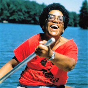 """Cover image credit of Audre Lorde from the documentary """"Audre Lorde- The Berlin Years 1984-1992"""" (2012), produced and directed by Dagmar Schultz"""
