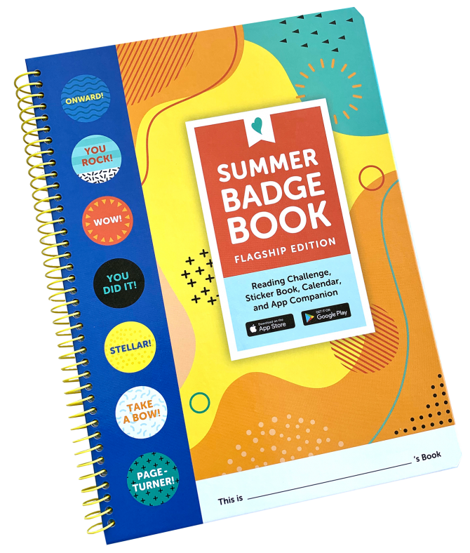 2021 5-2 badge book summer reading small