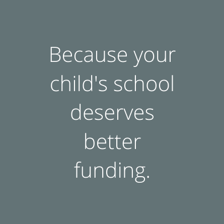 States because your child's school deserves better funding.